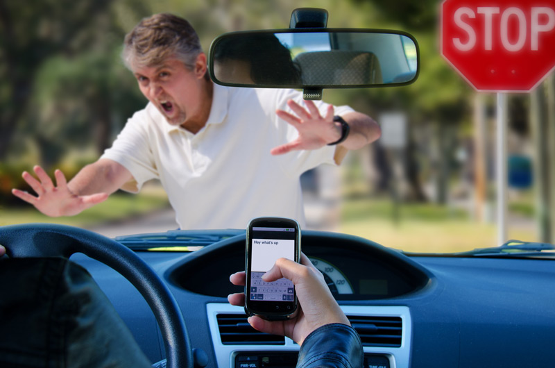 Texting while driving is dangerous - especially for the people you don't see!